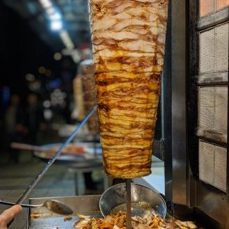 Shwarma at Taksim